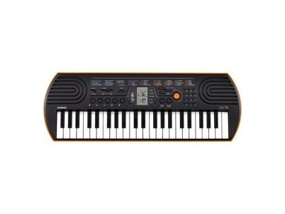 SA 76 detské klávesy CASIO
